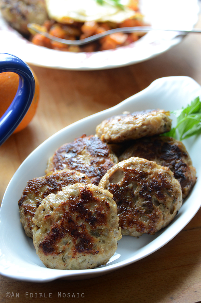 Apple Onion Chicken Breakfast Sausage Paleo