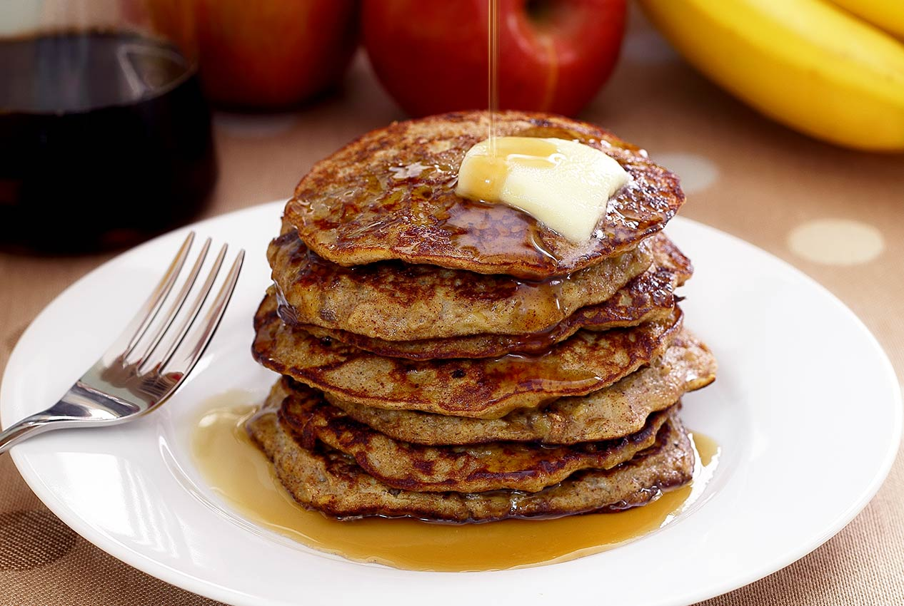 Paleo Apple-Cinnamon Pancakes Recipe